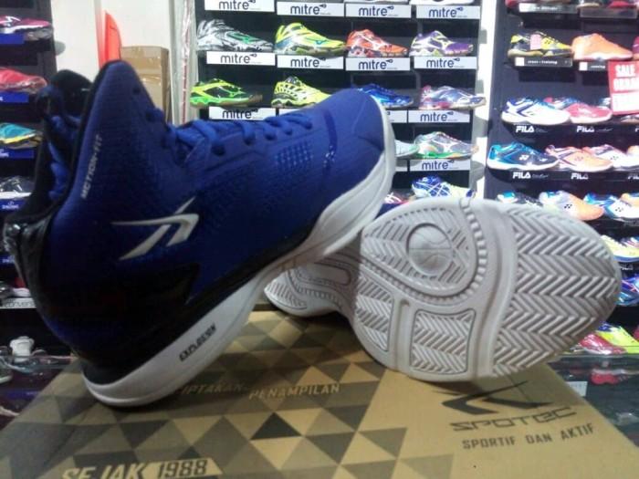 Jual THE GREATEST sepatu basket spotec exodus biru original - Jaya ... 161f5f3cc9