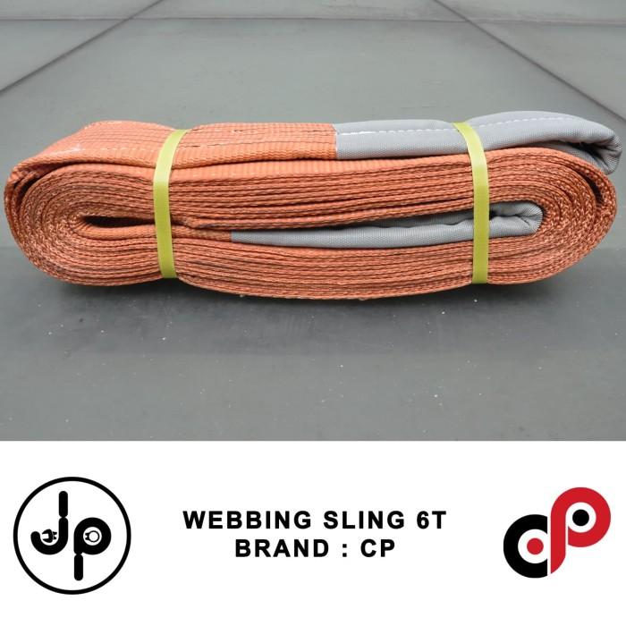 Jual Polyester Webbing Sling 6 Ton X 8 Meter Tali Angkat Jakarta Pusat Jp Technical Supply Tokopedia