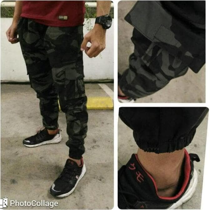 Jogger Training Army DC Blond Cotton