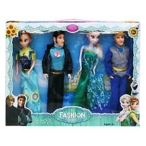 Jual Mainan Anak Perempuan Boneka Frozen Elsa Anna Couple Limited ... 349038fb2f