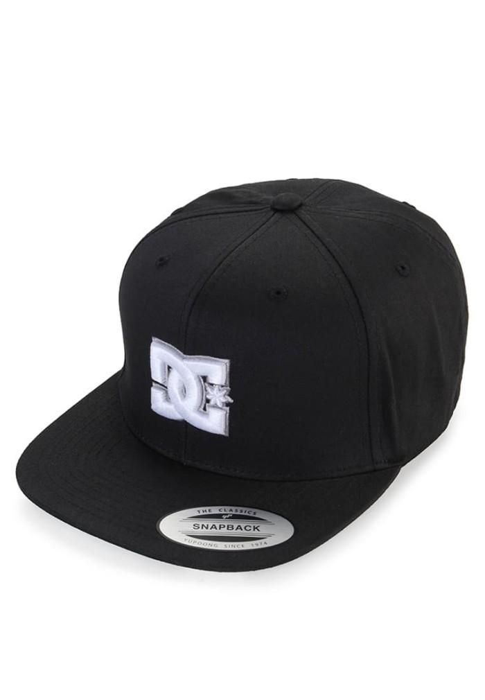 ORIGINAL Topi Snappy M Hats Kvj0  DC  Black