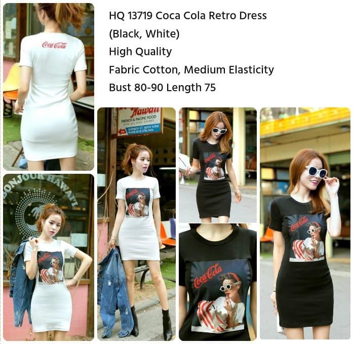 Foto Produk Coca Cola Retro Dress (WHITE) - 13719 dari Capture de la Mode
