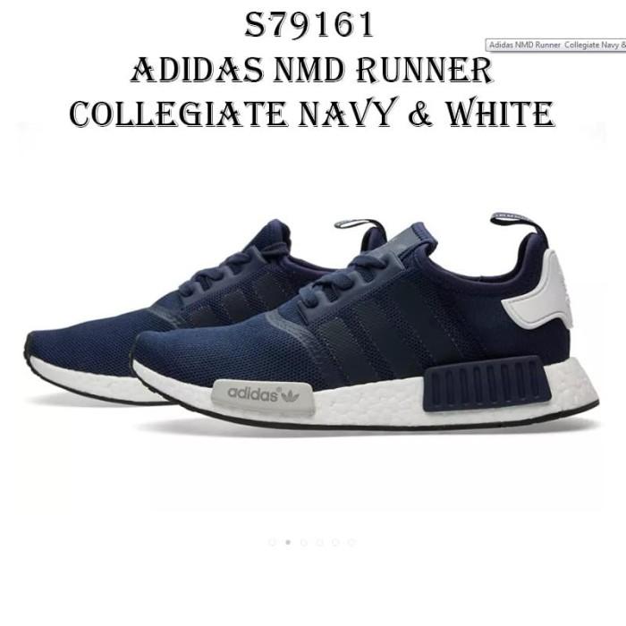 81f76a628f738 Jual Adidas NMD Runner Collegiate Navy   White - S79161 - Watermelon ...