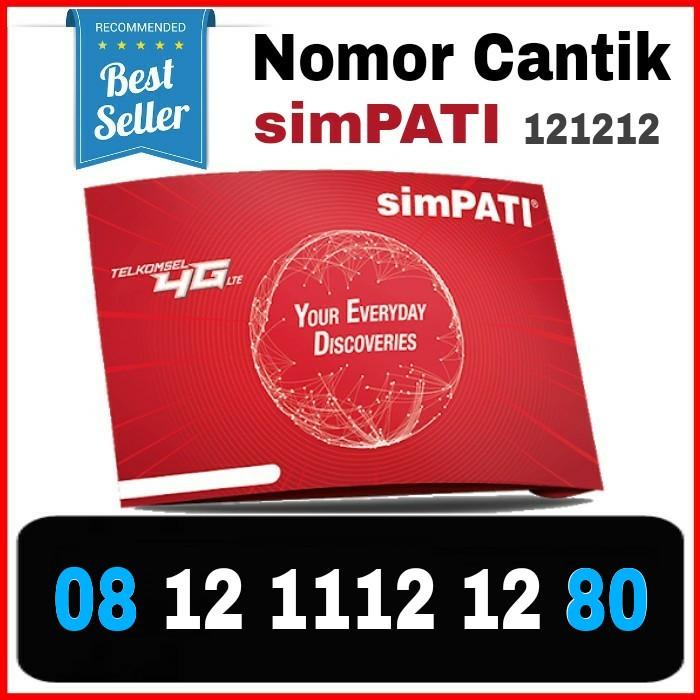 Katalog Nomor Cantik Telkomsel Simpati Travelbon.com