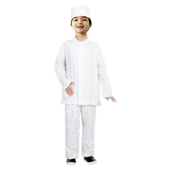 Fayrany Busana Muslim Anak Gamis Putih Fgp 004a Putih Daftar Harga Source · promo ramadhan Baju