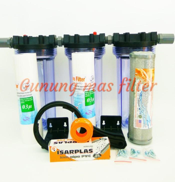 harga Paket saringan / filter air sumur bor siap pakai - wl10 clear- ssc Tokopedia.com