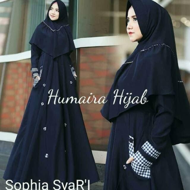 Jual Sophia Syari Humaira Hijab Kota Bandung Maxy Dress Tokopedia