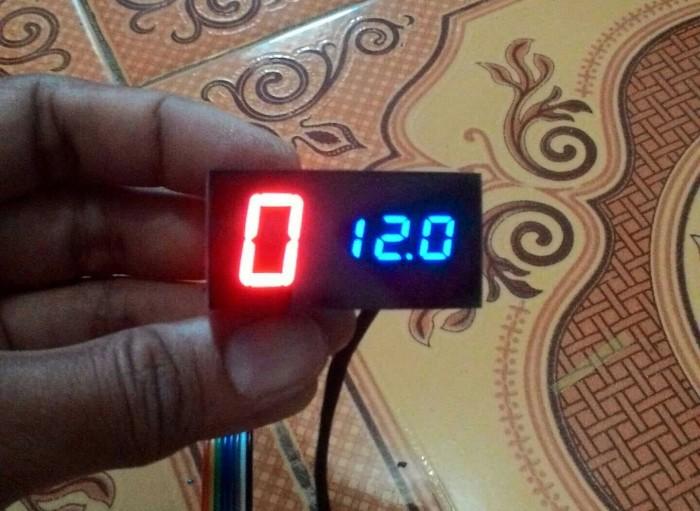 harga Indikator 2in1 gear plus voltmeter anti air. Tokopedia.com