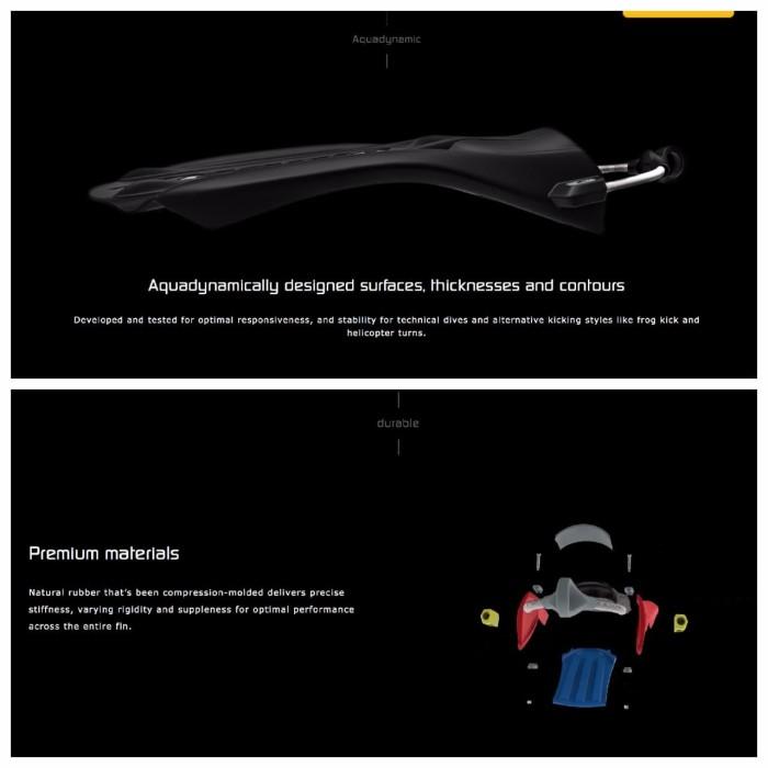 Fin Zeagle Recon Alat Diving Scuba Diving ZEA-01