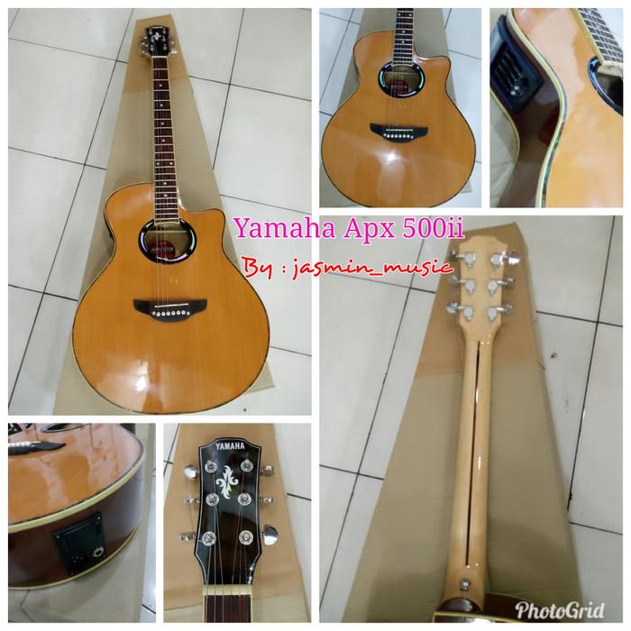 harga Gitar akustik elektrik lc tuner model apx, lakewood, taylor Tokopedia.com
