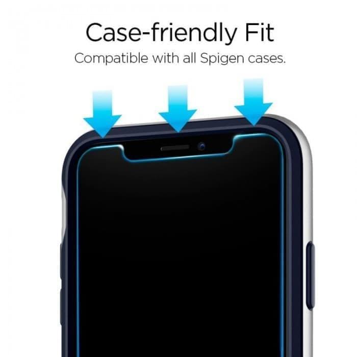 size 40 aed1a 46217 Jual iPhone X Spigen SGP T R Slim Clear Tempered Glass screen guard layar -  Kota Bandung - Vie Case | Tokopedia