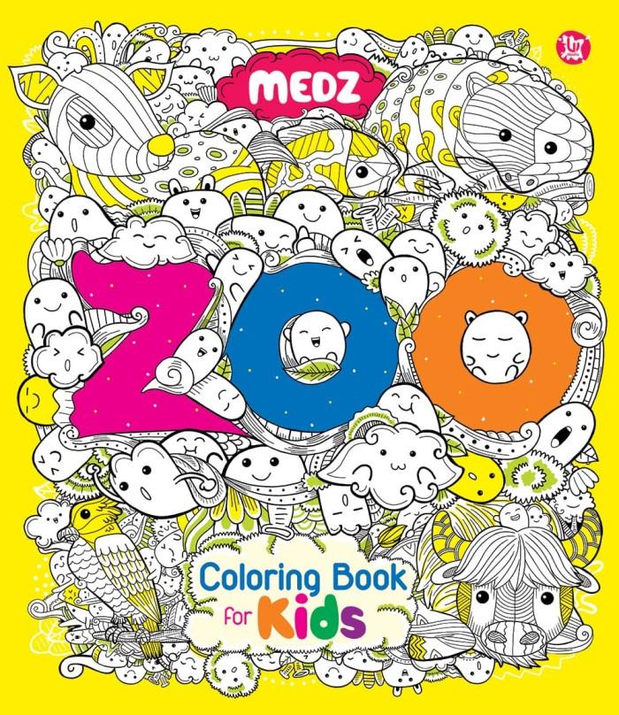 52 Coloring Book Zoo Pictures Picture HD