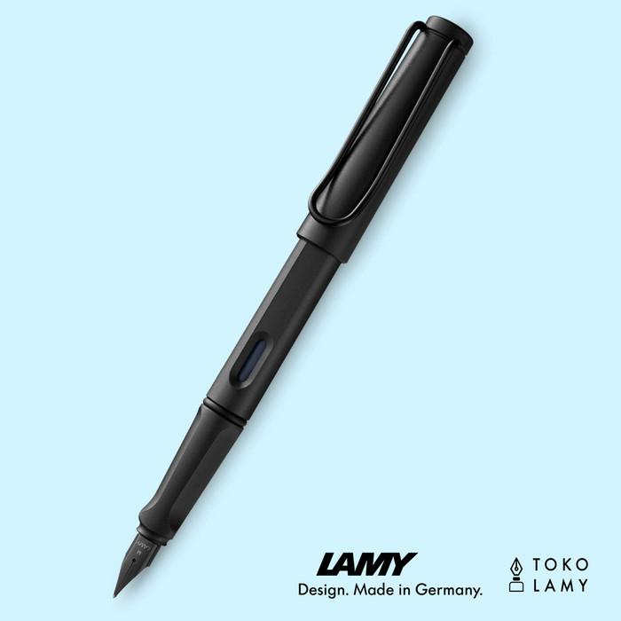 harga Fountain pen lamy safari all black, fine (f) (special edition 2018) Tokopedia.com