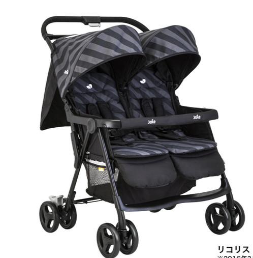 harga Joie - aire twin baby stroller (liquorice) Tokopedia.com