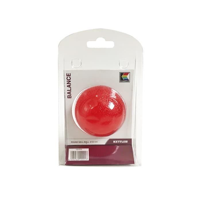 Foto Produk Kettler Round Gell Ball 50mm Clear Red 122-010 002002075 dari MG Sports & Music