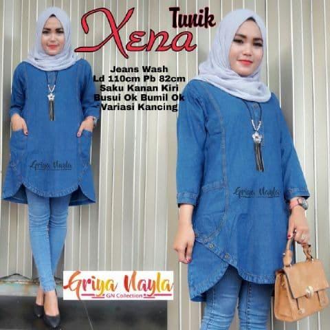 Jual Model Baju Wanita Terbaru Biru Tua Kab Klaten Kasyfa