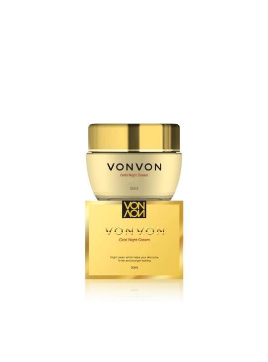 harga Vonvon 24k gold night cream original lejel korea 50ml Tokopedia.com