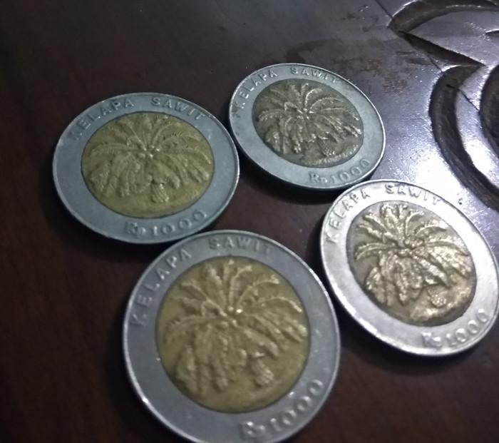harga Uang koin 1000 kelapa sawit ASLI Tokopedia.com