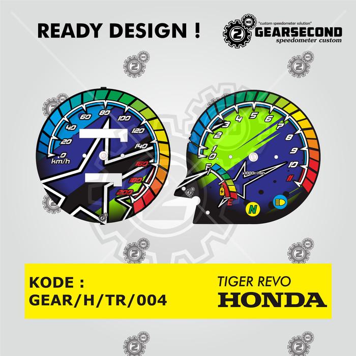 harga Ready design panel speedometer custom tiger revo - gearsecond speedo Tokopedia.com
