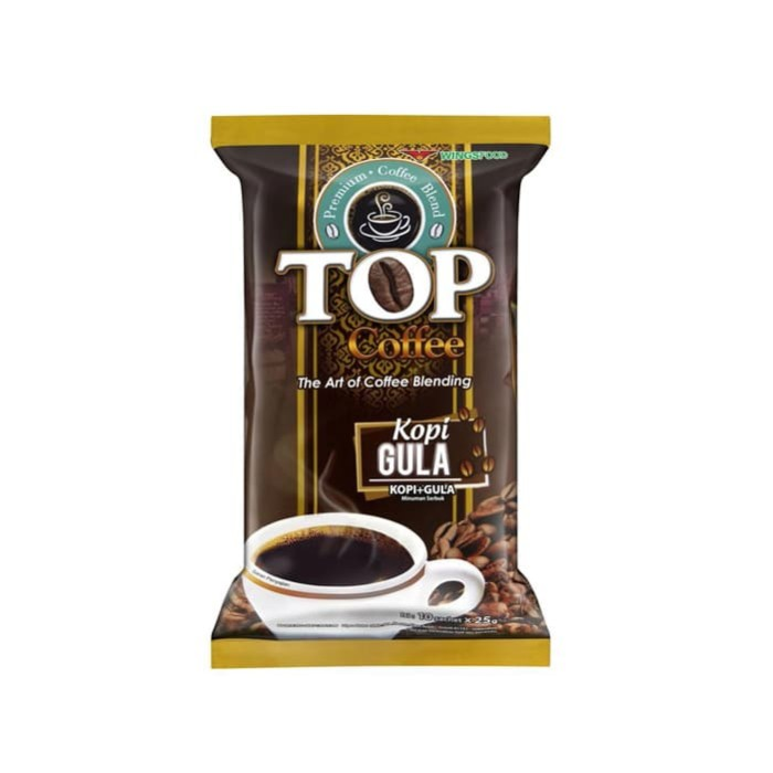 Top kopi gula (2in1) bag 20 x 25gr