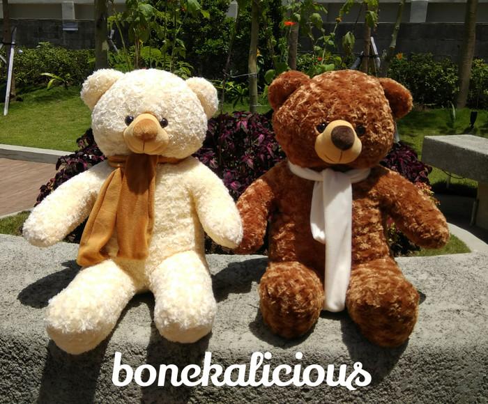 harga Boneka beruang teddy bear super besar jumbo 100cm 1m 1meter Tokopedia.com