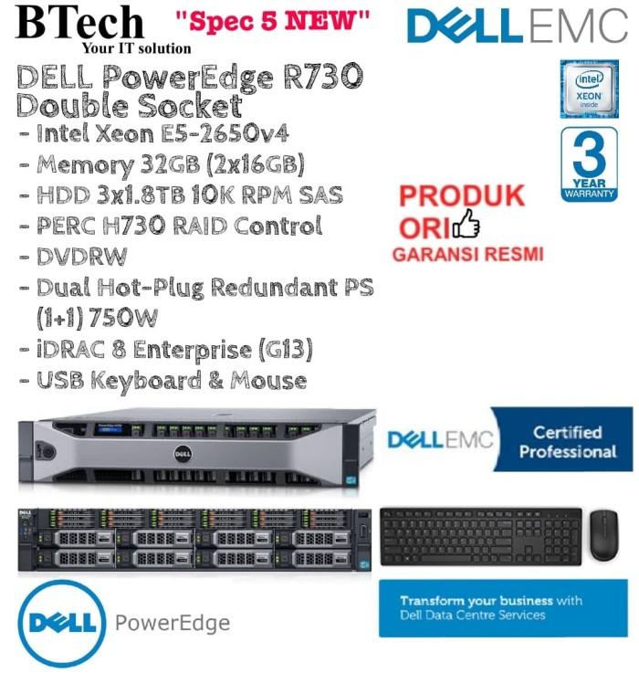 Jual DELL Server R730 2U