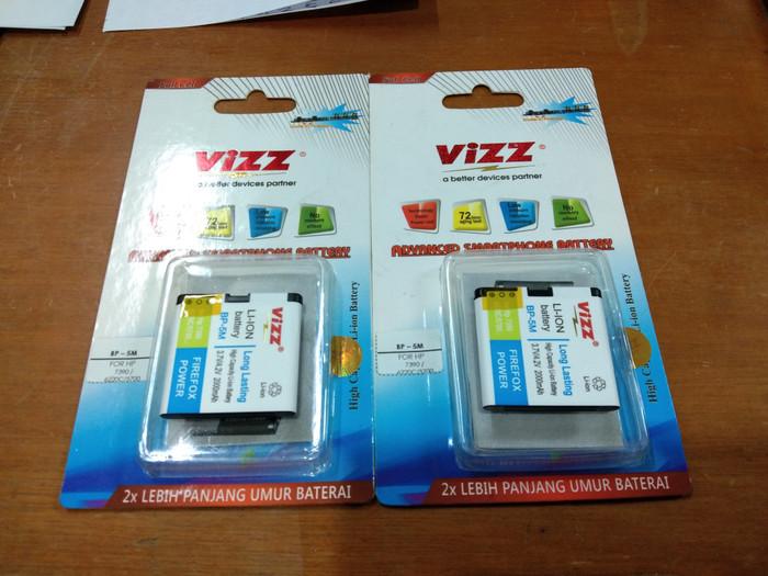 harga Batre baterai batery double power vizz bp5m bp 5m bp-5m nokia 561 6220 Tokopedia.com