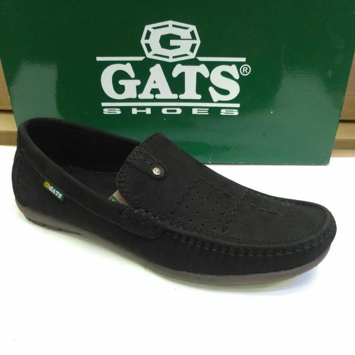 harga Sepatu kulit mocasin gats hk 0003 hitam Tokopedia.com