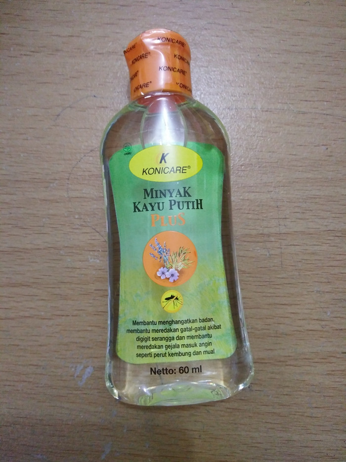 Konicare Minyak Kayu Putih Plus anti nyamuk 60ml