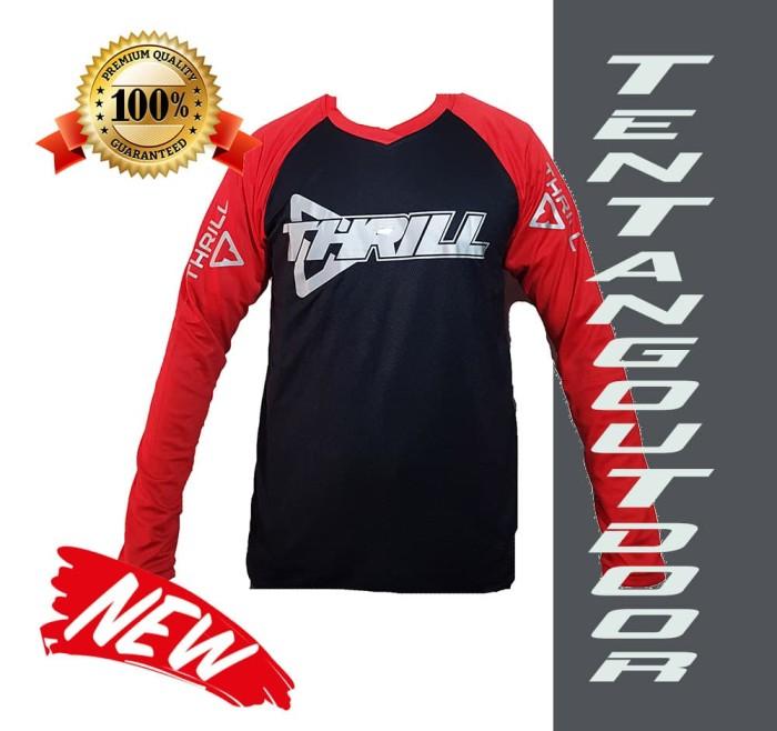 harga Premium jersey downhill cross sepeda dh thrill baju kaos f004 mtb bmx Tokopedia.com