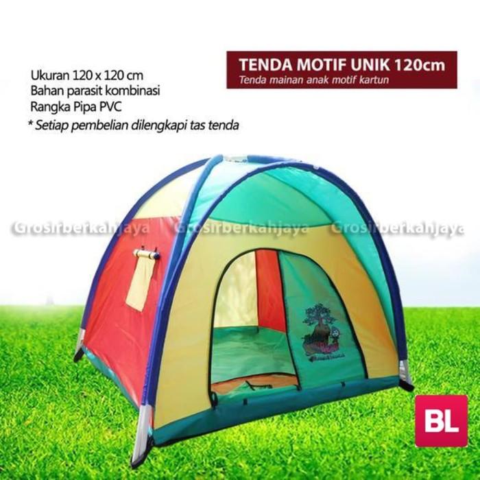 KokaPlay Tenda Mainan Anak Camping Indoor Segitiga Karakter Big Robot Hero 6. Source · Produk Premium Tenda Anak karakter ukuran 120 cm
