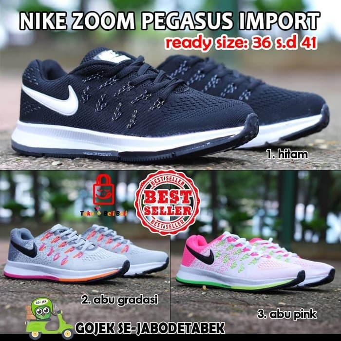 Jual sepatu nike zoom pegasus import. sepatu nike. sepatu olahraga ... c02dc3ab74