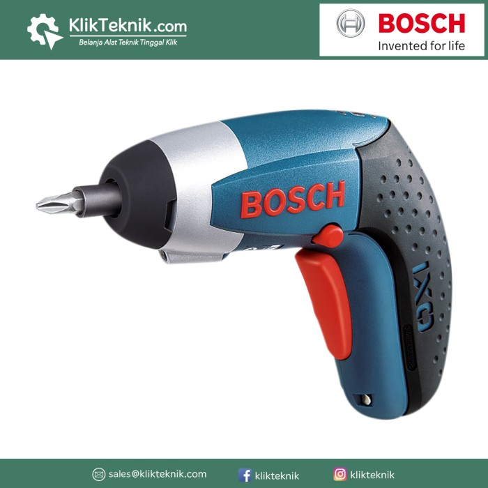 Jual Bosch Screwdriver Baterai 3.6v Ixo 3 / Mesin Obeng Listrik Harga Promo Terbaru