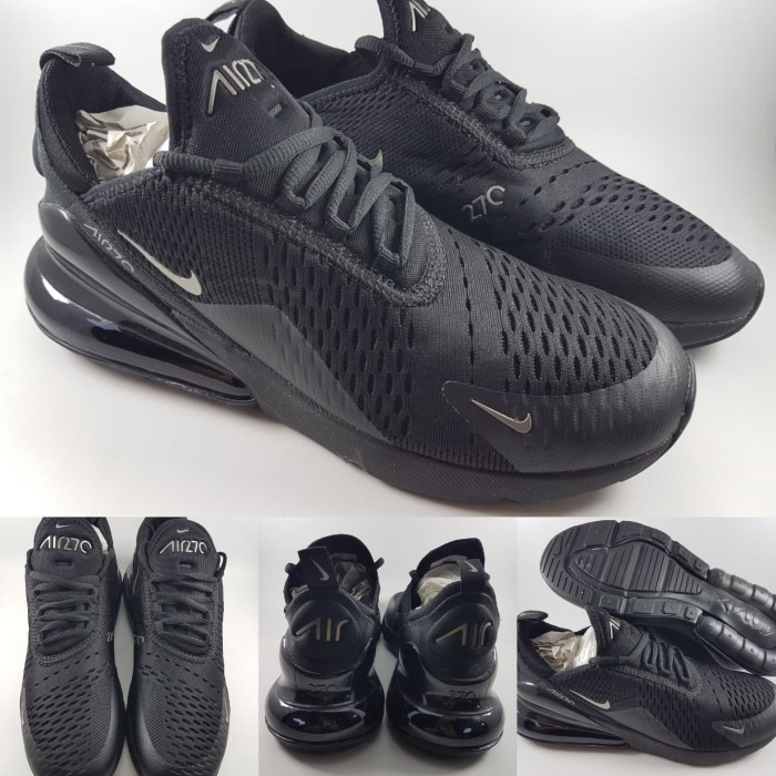 harga Sepatu lari nike air max 270 running jogging full black hitam Tokopedia.com