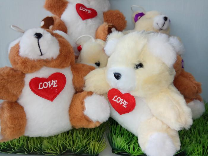 Boneka Teddy Bear Love 17cm