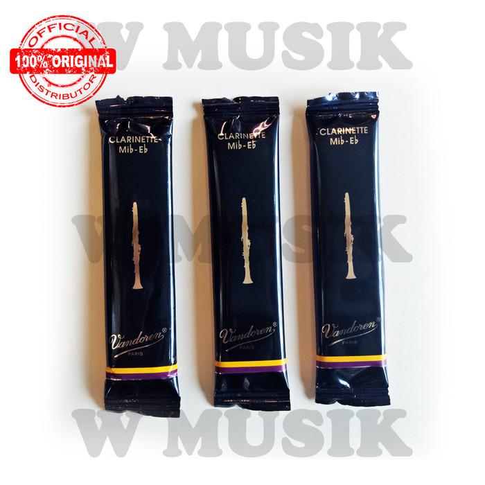 harga Vandoren reed clarinet traditional eb 25 cr1125 (3 pack) Tokopedia.com