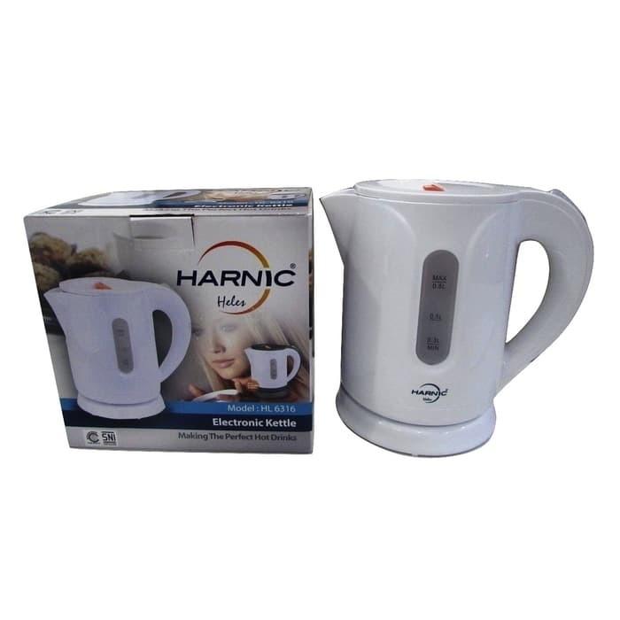 harga Harnic-heles kettle / teko listrik / pemanas air listrik heles hl 6316 Tokopedia.com