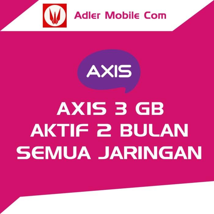 harga Axis 3gb 2 bulan Tokopedia.com