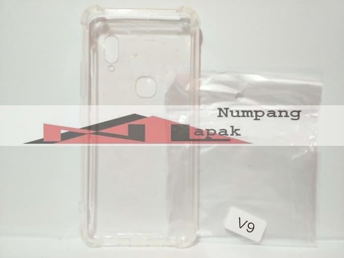 Spesifikasi Case Anti Crack Untuk HP : Vivo V9 Bahan : - Pinggiran : Soft, - Belakang : Hard (Fiber / Akrilik) Desain Sangat Nyaman ketika dipegang