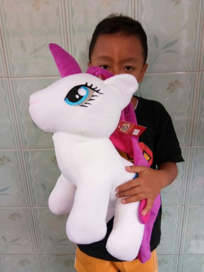 Jual Boneka Kuda Pony Lucu Ukuran 50cm - Boneka Unicorn Lucu Murah ... 7a864521ce
