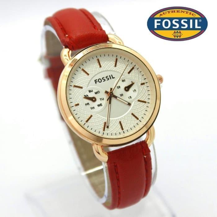 harga Jam tangan fossil kulit 3555 Tokopedia.com