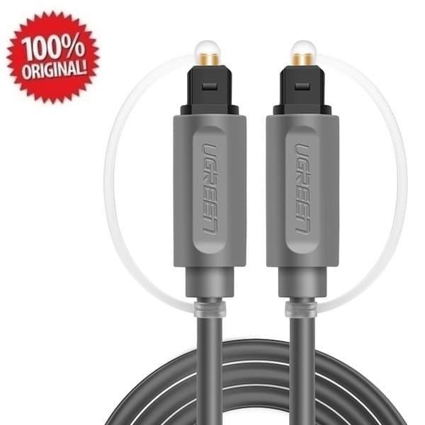 Foto Produk Ugreen Optical Toslink Digital Audio Cable 1.5M (AV122) - Grey dari Inti Sukses