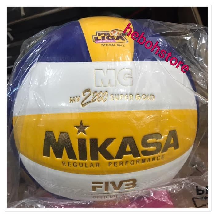 harga Bola volly volley voli voly ball mikasa mv 2200 super gold original Tokopedia.com