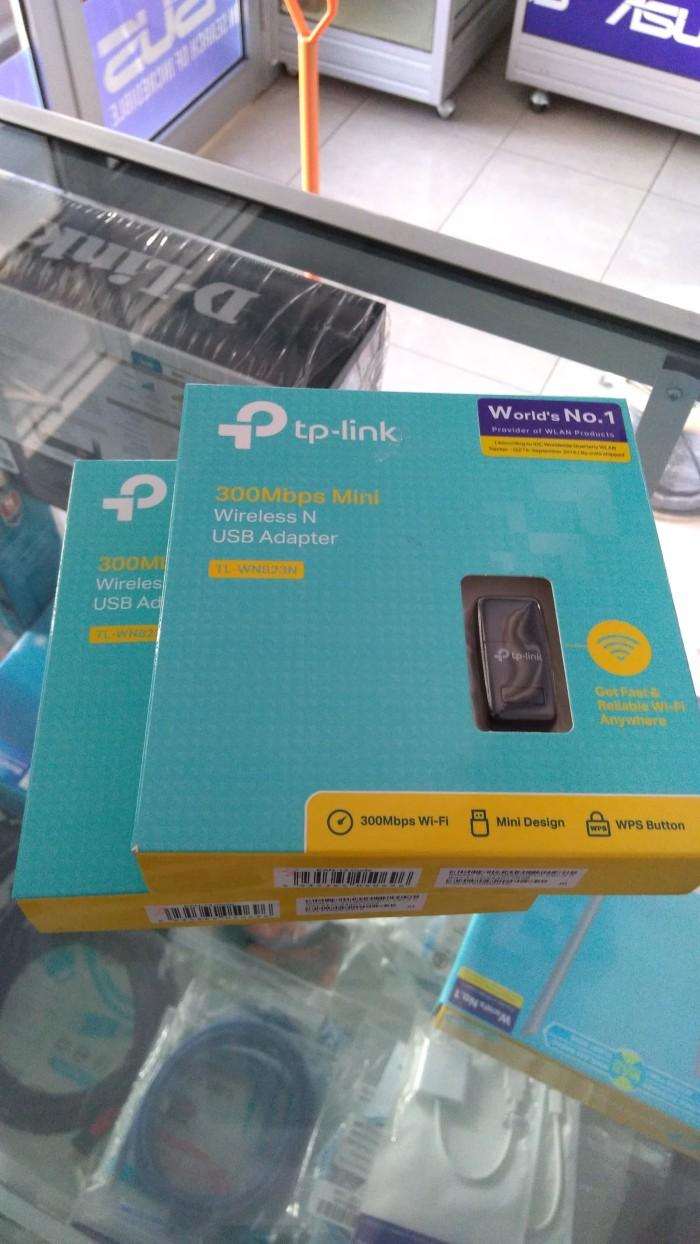 Jual Mini Wireless Usb Adapter Tp Link Tl Wn823n Store Malang Wn 823n 300mbps