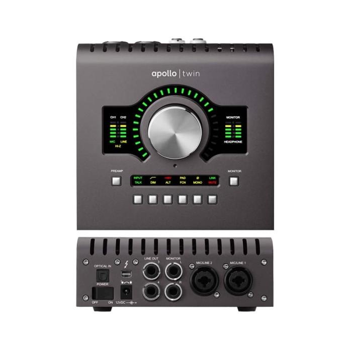 universal audio apollo twin quad mk ii soundcard