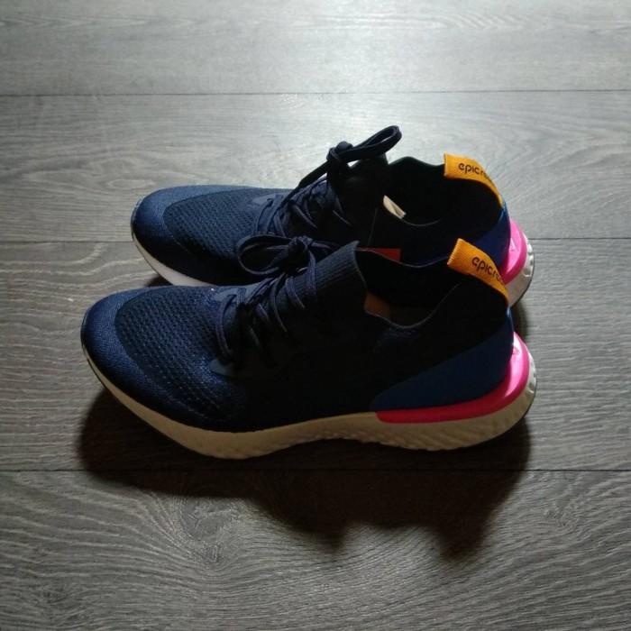 d6e09249ee7d ... Nike Lunar Epic React Flyknit Navy 3c0be2d - Sepatu Running Nike Sepatu  Pria - Navy