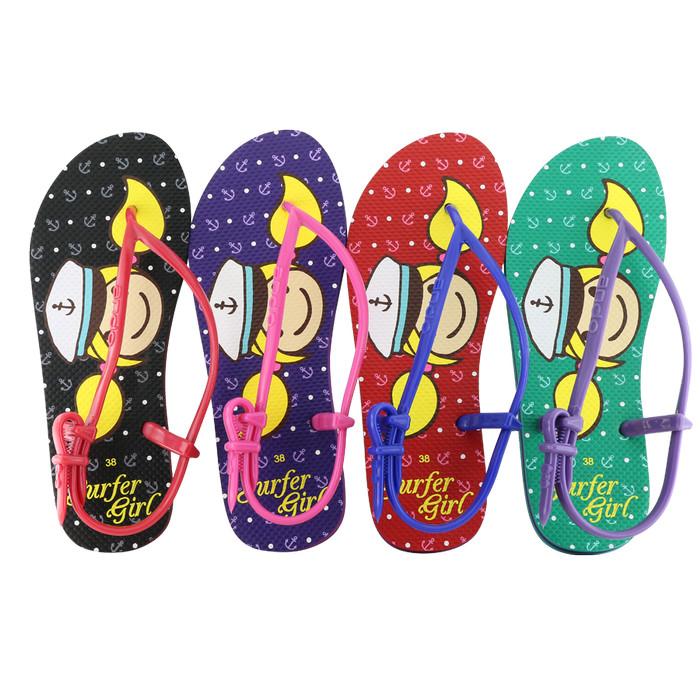 511bd6edbea5 Sandal Surfer Girl Flip Flop Limited Edition SGL Sporty Merah R. Blue -  Merah