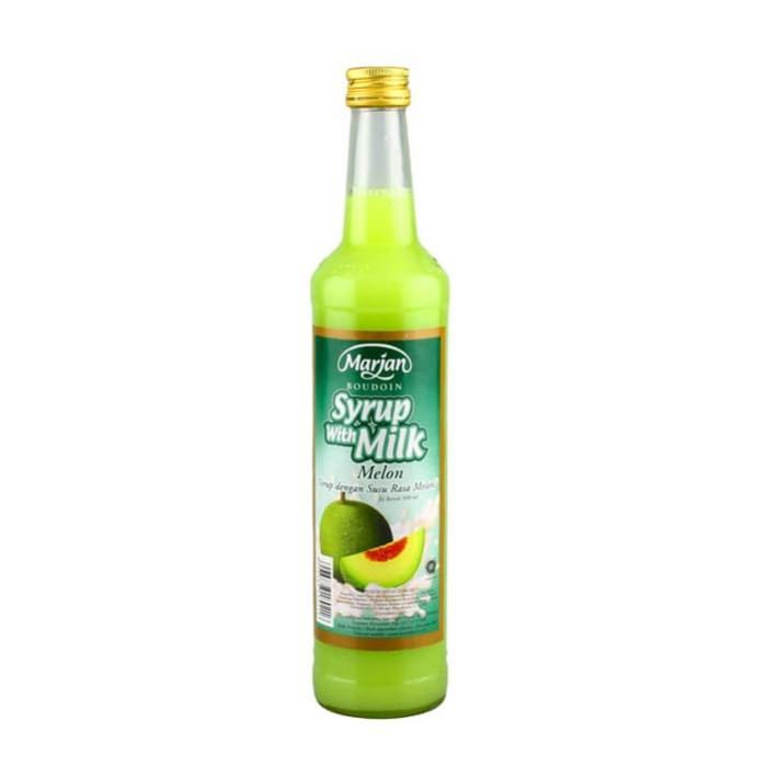 harga Marjan syrup + milk  melon 460 ml Tokopedia.com