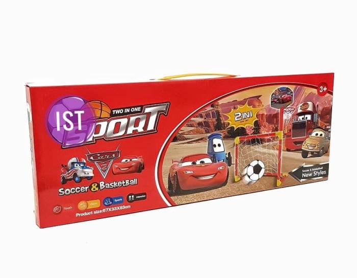 Foto Produk 2 in 1 Sport Playset Soccer & Basket Ball Cars dari istanatoys.net