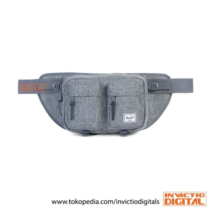 harga Herschel supply co eighteen grey x raven hip pack - waist bag original Tokopedia.com